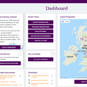 Sourcing Investments - Your Personalised Investment Dashboard
